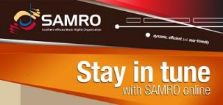 NEW SELF-REGISTRATION FEATURE MAKES NOTIFYING WORKS WITH SAMRO MORE CONVENIENT